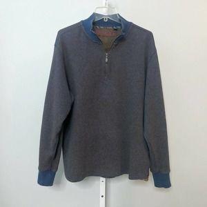 Robert Graham Quarter Zip Sweatshirt